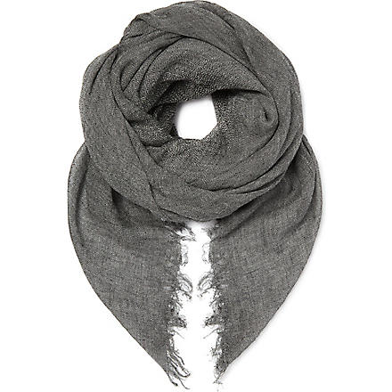 SANDRO Superstition scarf (Grey
