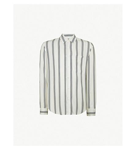 SANDRO 条纹编织衬衫 (本色