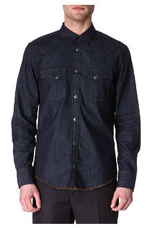 SANDRO Rockers denim shirt