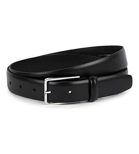 SANDRO Leather belt (Black