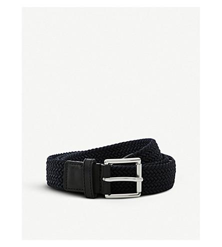 SANDRO E18 Golf woven belt (Marine