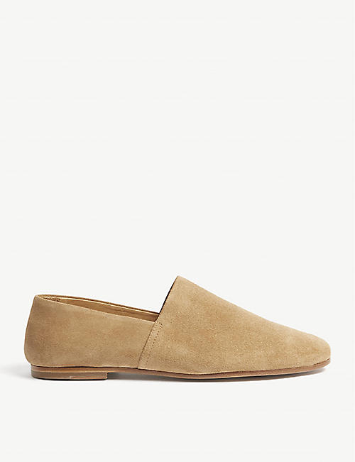 SANDRO Suede slippers