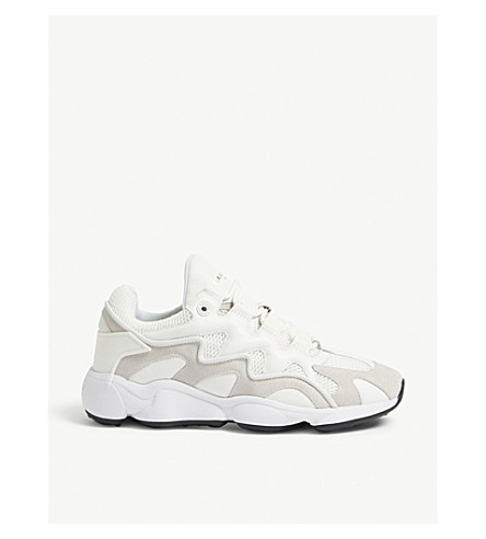 Atomic leather and mesh trainers(CH1642W)