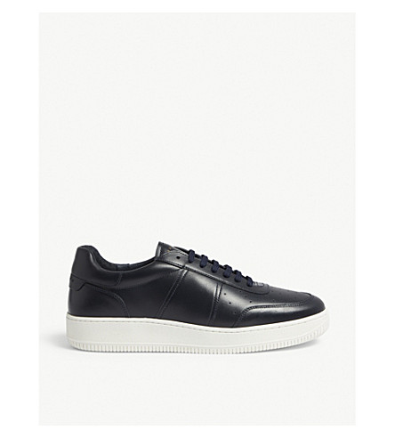 H18 magic solid leather trainers(74-10081-CH1645W)