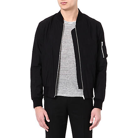 SANDRO Bomber jacket (Black