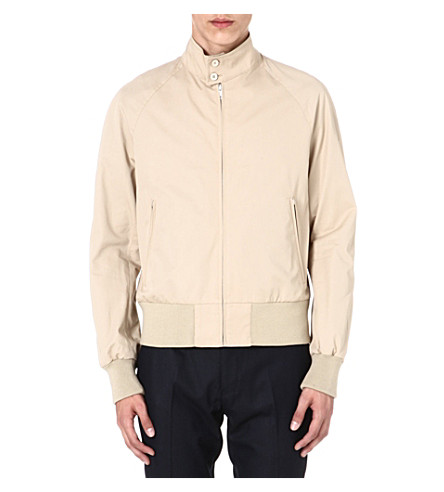SANDRO Harrington jacket (Beige