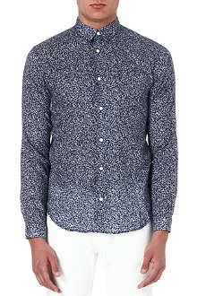 SANDRO Slim-fit floral shirt