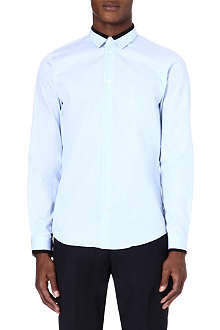 SANDRO Ottoman cotton shirt