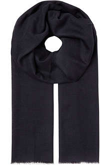 SANDRO Wool and silk scarf