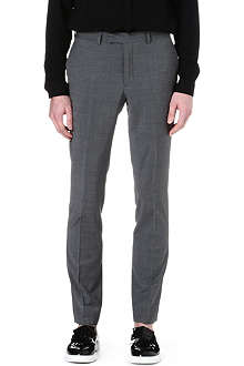 SANDRO Tapered wool suit trousers