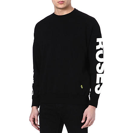 SANDRO Resurrection sweatshirt (Black
