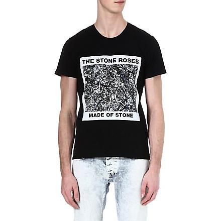 SANDRO Stone Roses t-shirt (Black