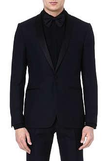 SANDRO Wool tuxedo jacket
