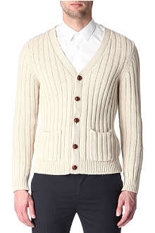 SANDRO Crosby knitted cardigan