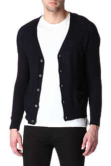 SANDRO Optic knitted cardigan
