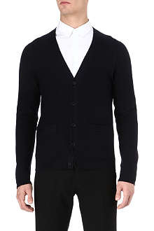 SANDRO Lotus knitted cardigan