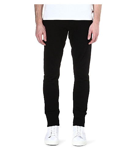 SANDRO Tapered jogging bottoms (Black