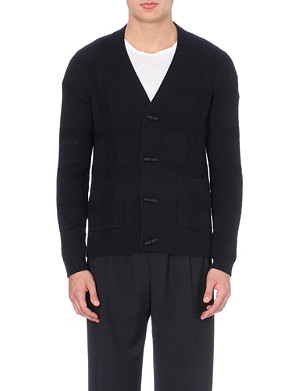 SANDRO Arsenic knitted cardigan