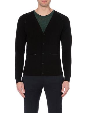 SANDRO Merino wool cardigan