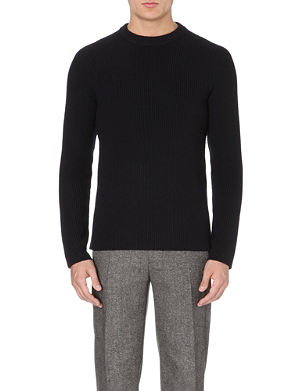 SANDRO Merino wool sweater