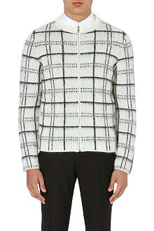 SANDRO Gordon patterned cardigan