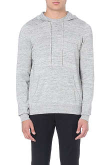 SANDRO Moonlight flecked hoody