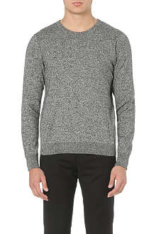 SANDRO Moon knitted sweatshirt