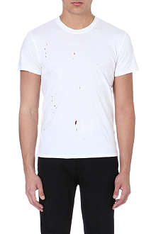 SANDRO Punk cotton t-shirt