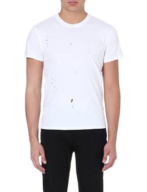 SANDRO Punk cotton t-shirt