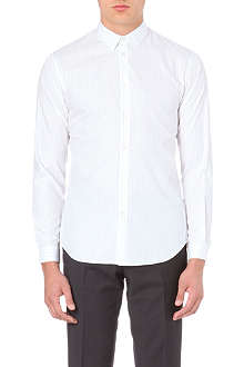 SANDRO Seamless slim-fit single-cuff shirt