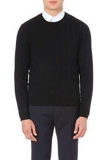 SANDRO Supreme wool jumper