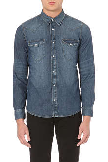 SANDRO Western denim shirt
