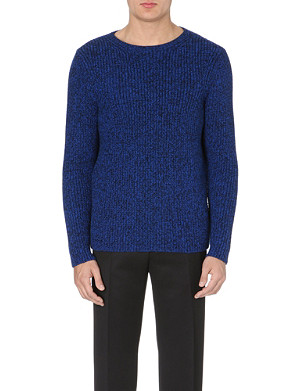SANDRO Heather wool sweater