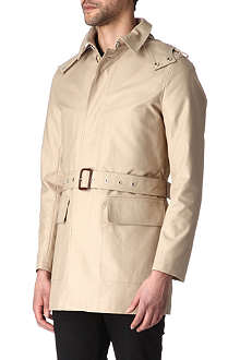 SANDRO Sand trench coat