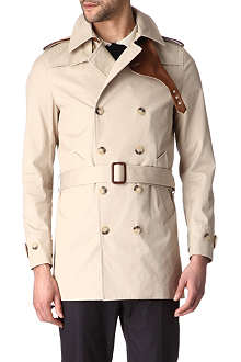 SANDRO Magnetic trench coat