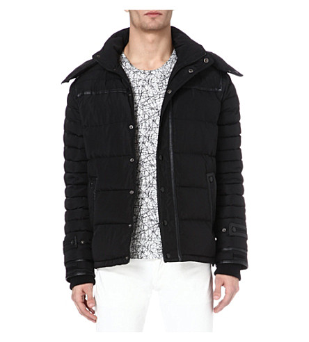 SANDRO Digital coat (Black