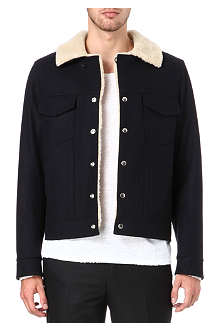 SANDRO Rodeo bomber jacket