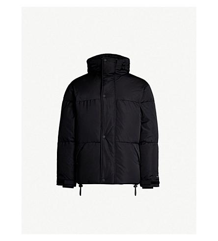 SANDRO 垫壳外套 (黑色