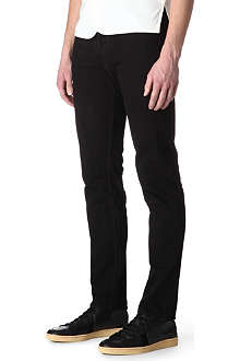SANDRO Overdyed regular-fit straight-leg jeans