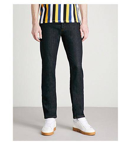 SANDRO Regular-fit tapered jeans (Brut+++denim