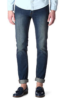 SANDRO Doors slim-fit straight jeans
