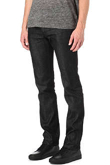 SANDRO Paint regular-fit straight jeans