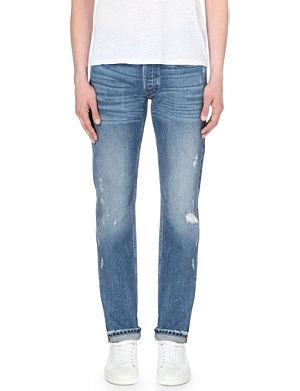 SANDRO Paint Destroy distressed denim jeans