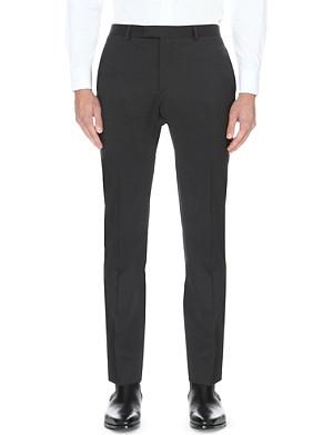 SANDRO Regular-fit straight wool trousers