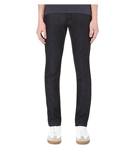 SANDRO Slim-fit skinny jeans (Brut+-+denim