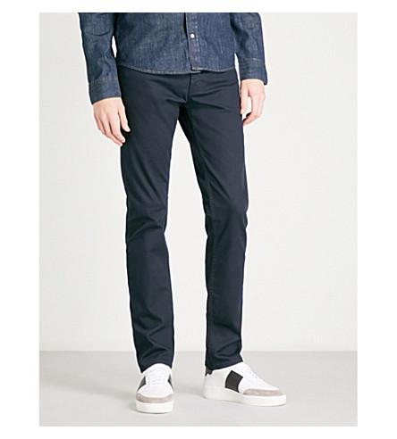 SANDRO Slim-fit skinny jeans (Navy+blue