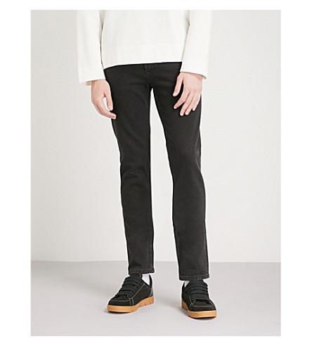 SANDRO Regular-fit tapered jeans (Black