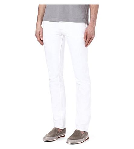 SANDRO Slim-fit skinny jeans (White