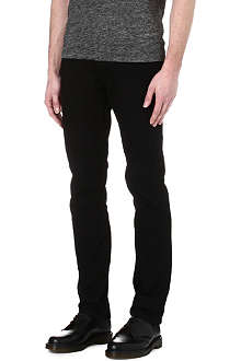 SANDRO Tapered slim mid-rise jeans