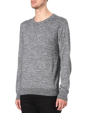 SANDRO Distortion sweatshirt